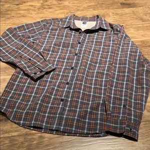 The North Face button down long sleeve shirt